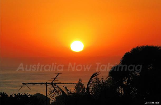2011年元日、シドニーの初日の出