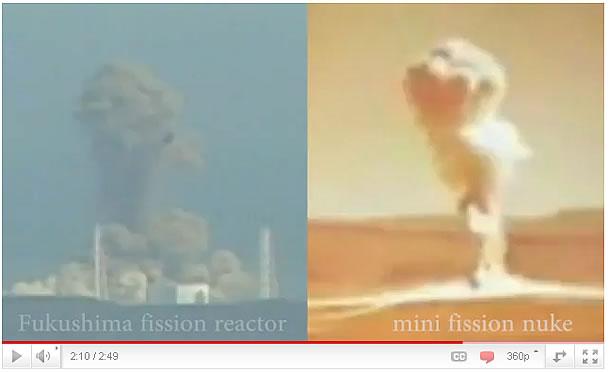 福島原発第3号機の爆発とよく似た核実験の爆発瞬間画像