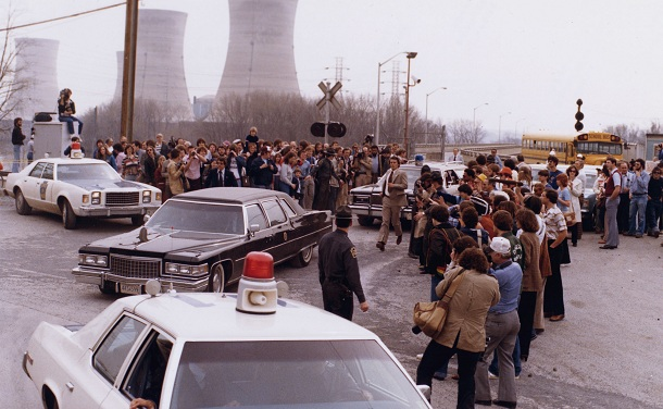 アメリカで起こったスリーマイル島原発事故、当時の写真