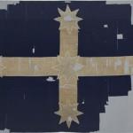 繋ぎ合わされたユーレカの旗 (Art Gallery Ballarat 蔵)
