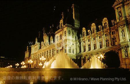 パリのオテル・ド・ヴィル