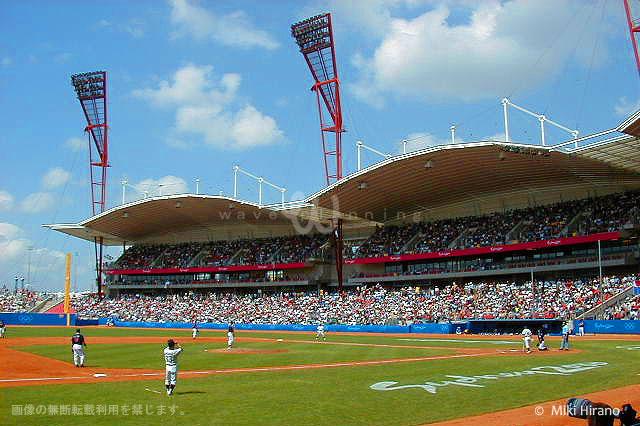 シドニー五輪時の野球の試合会場